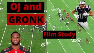 Buccaneers Tight Ends- OJ Howard and Rob Gronkowski  Film Study