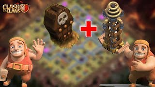 Put THESE DEFENSES Together in Your Base | Clash of Clans Base-Building
