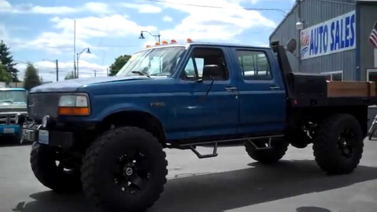 1994 Ford F350 Xl Crew Cab Diesel 4x4 Sold Youtube