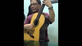 Ru ta ngậm ngùi - classic guitar cover ( Nguyễn Hạ Phương )