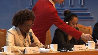 Hon. Michaëlle Jean, UNESCO Hangzhou Congress, Panel Discussion on Culture in the Post-2015