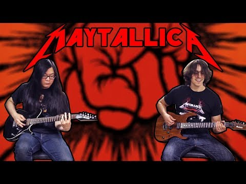 Metallica - St. Anger (MAJOR KEY COVER!  WITH SOLO?!?)