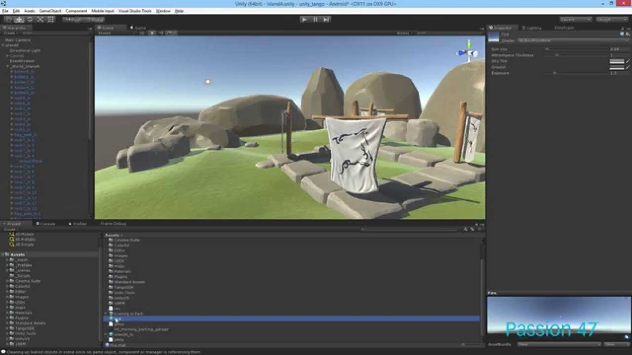 Unity 5 Intro to Skybox and Realtime Global Illumination