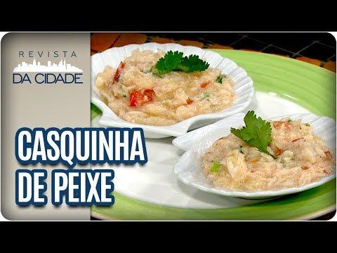 Receita De Casquinha De Peixe - Revista Da Cidade (07/03/18)