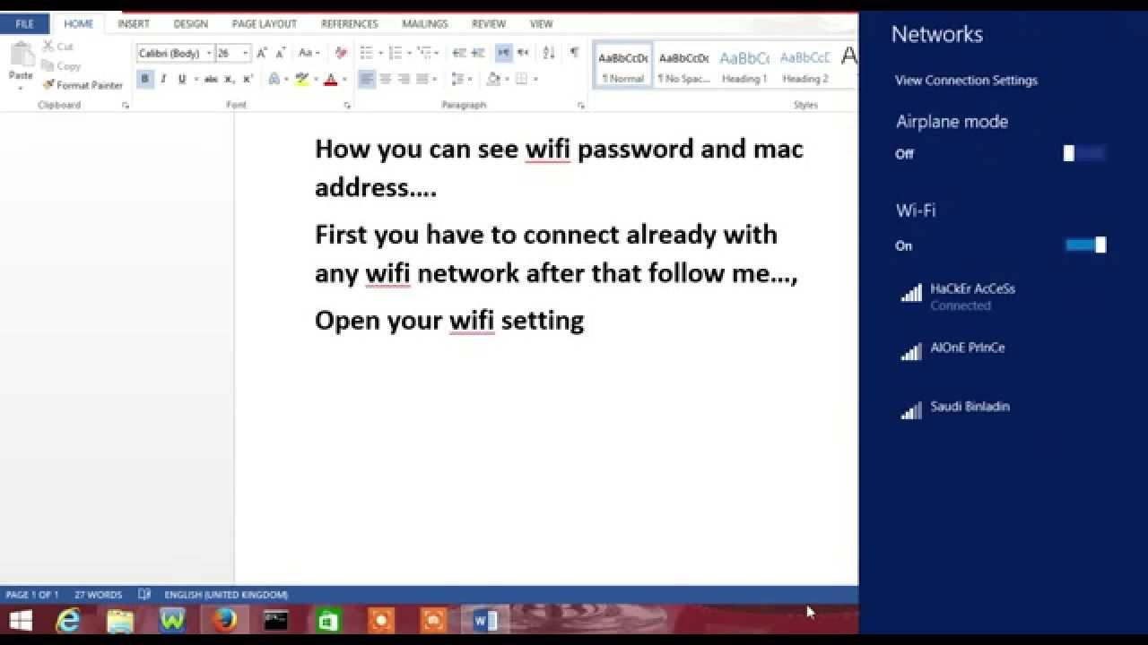crack password wifi mac