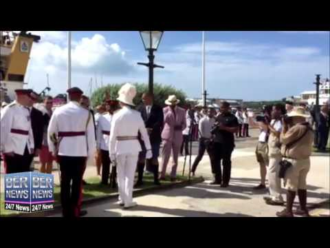 Governor Fergusson Bids Farewell To Bermuda, August 2, 2016