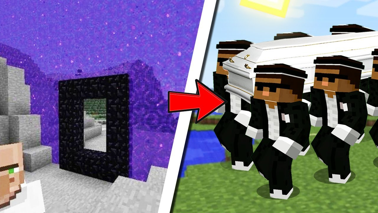 COFFIN MINECRAFT MEME ASTRONOMIA CURSED AND FUNNY MOMENTS