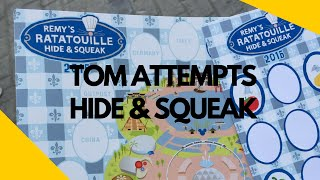 Tom Attempts The Ratatouille Hide & Squeak Scavenger Hunt at Epcot Food and Wine 2016