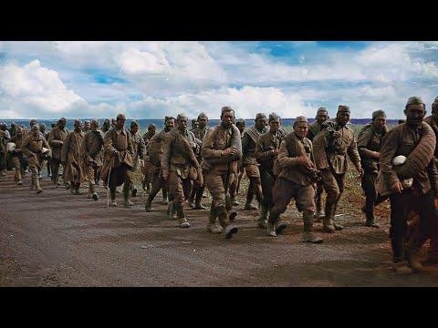 Цветная личная киносъемка наступления на Сталинград фронтового оператора вермахта