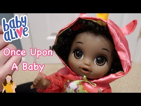 BRAND NEW Baby Alive Once Upon A Baby Unoxing! | Kelli Maple