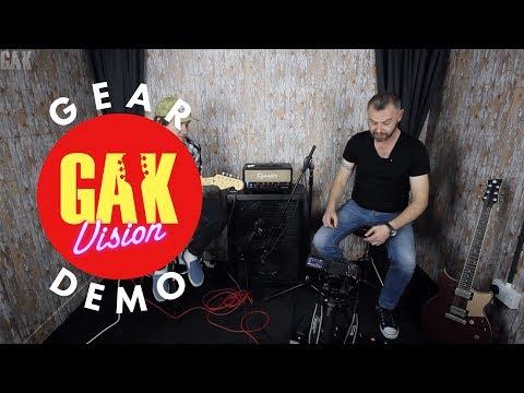 GAK DEMO : Line 6 Helix LT Guitar Processor with Joss and Ross