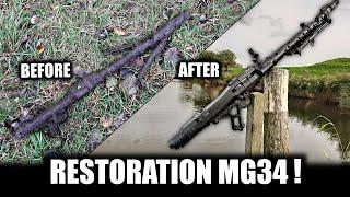 Відновлення та пожертви наших MG 34 або MG в музей - кулемет 34 - 2МВ