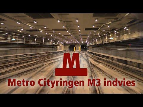 Metro Cityringen M3 er åbnet