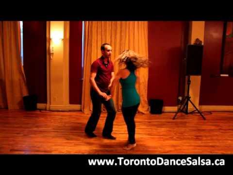 Toronto Dance Salsa Intermediate Salsa Combination #4