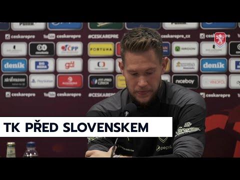 ČR A   Tisková konference před utkáním se Slovenskem