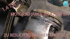 Problemzone 1.4 tsi Ringstegbruch am Kolben R.U.F. GmbH live bei der Demontage dabei