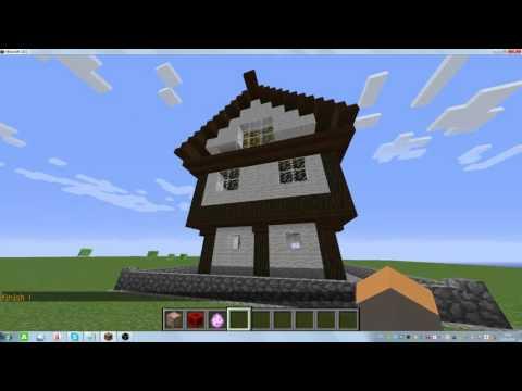 Это видео о том как сделать дом с помощью командного блока!