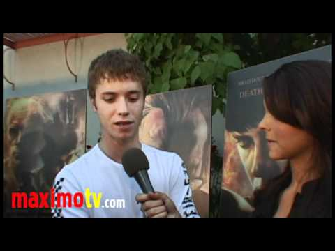 """""""Death And Cremation"""" Premiere Jeremy Sumpter, Sco..."""