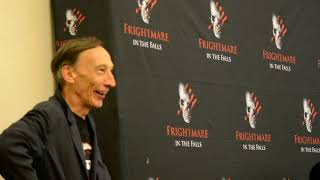 Supernatural's Death ‎Julian Richings Q & A  Frightmare At The Falls