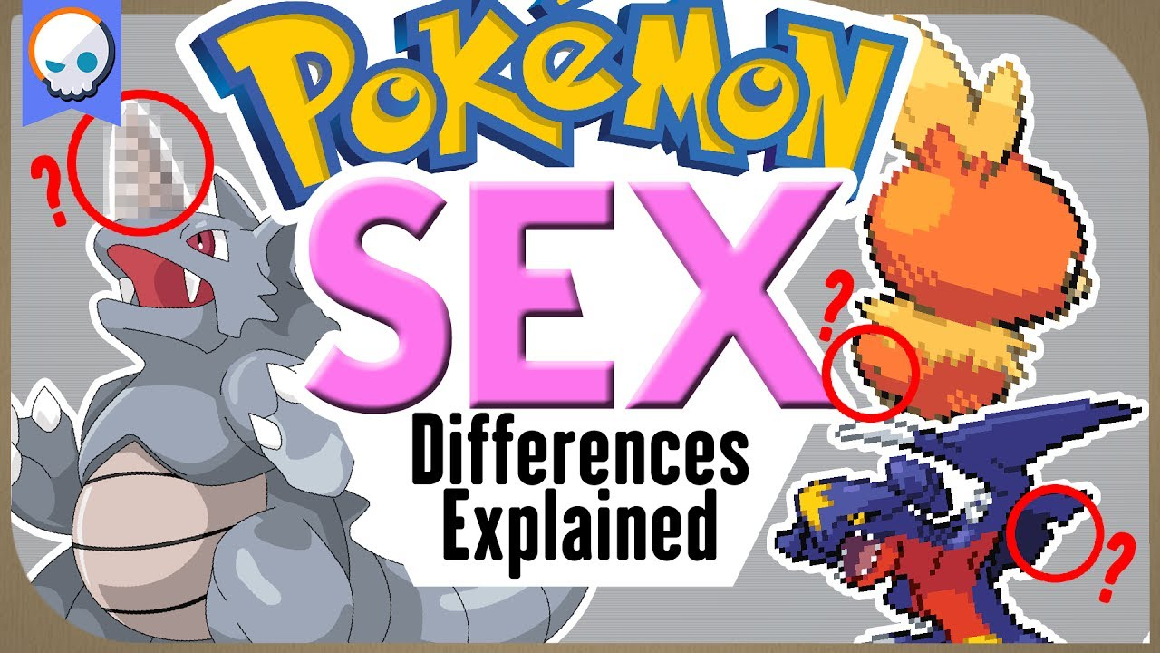 Every Gender Difference in Pokemon EXPLAINED! | Gnoggin | Part 1 #1