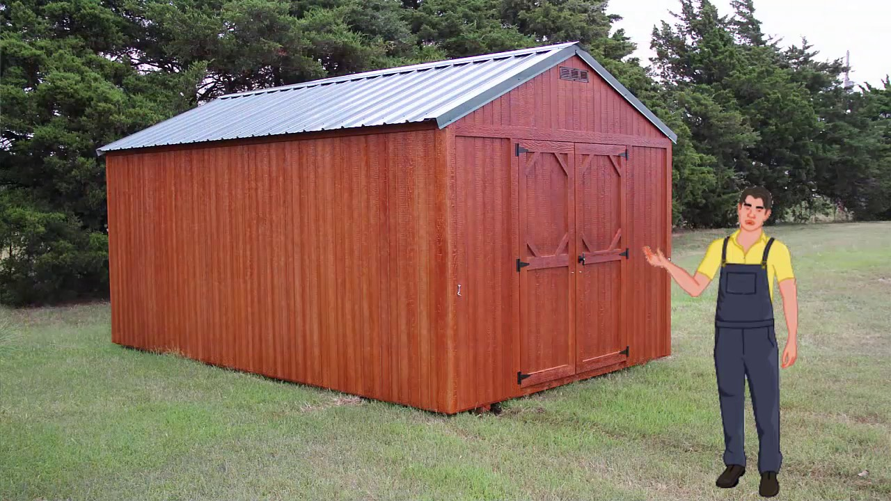 Best Portable Storage Buildings Norman Ok Youtube