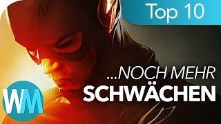 Top 10 SCHWÄCHEN der Superhelden Teil 2