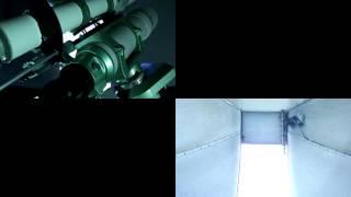 武蔵高等学校・中学校太陽観測部ドーム内望遠鏡稼働映像