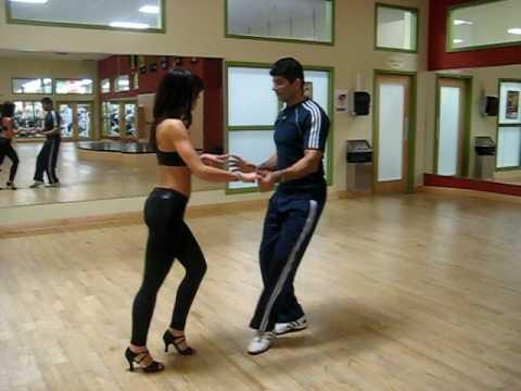 how to dip salsa dance