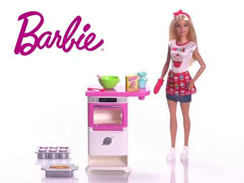 Barbie Bakery Chef Doll And Playset Toys R Us Canada Youtube