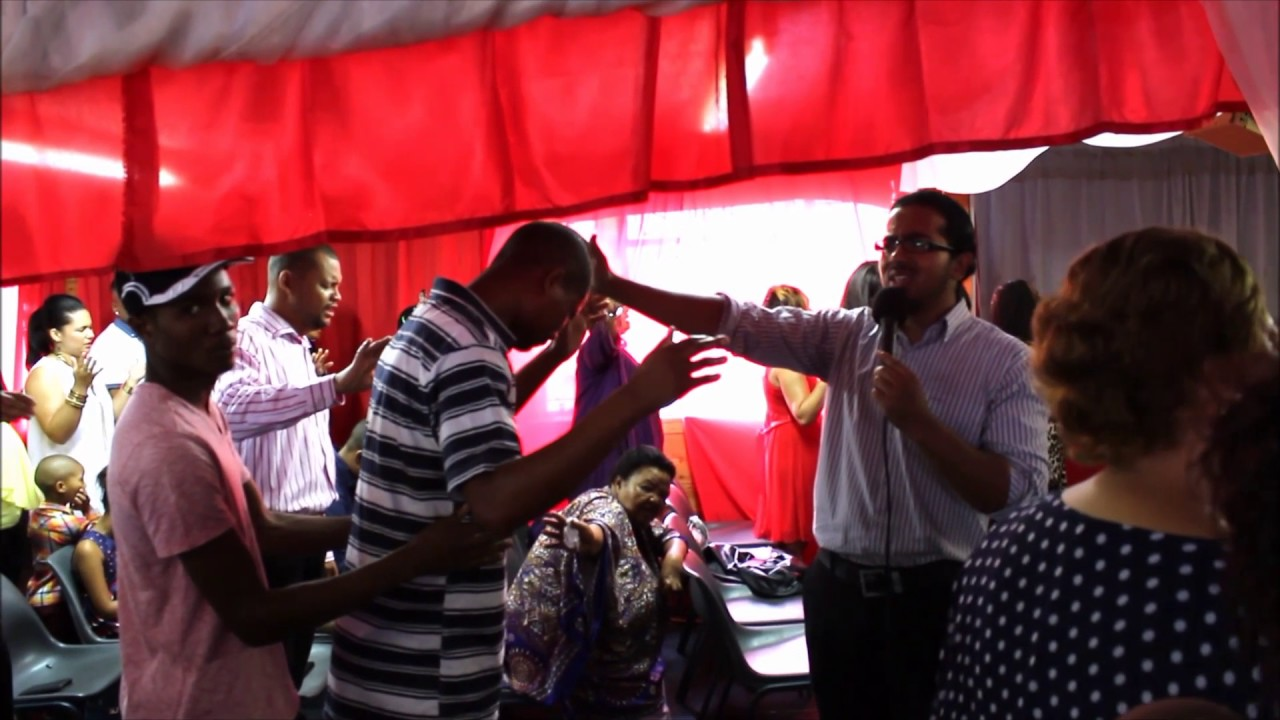 Man touched by the power of the Holy Spirit and received inner healing