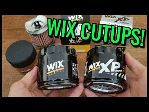 WIX Oil Filters Cut Open! | XP vs Regular vs FRAM Ultraguard!