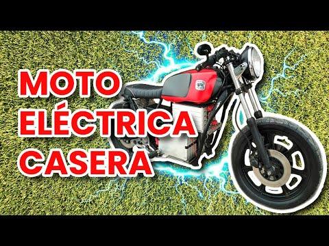 COMO HACER UNA MOTO ELECTRICA CASERA | RECOPILACIN | PASO A PASO DIY Electric homemade motorcycle