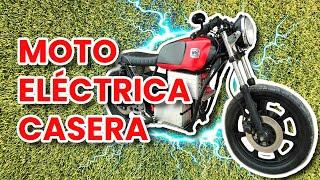 COMO HACER UNA MOTO ELECTRICA CASERA | RECOPILACIÓN | PASO A PASO DIY Electric homemade motorcycle