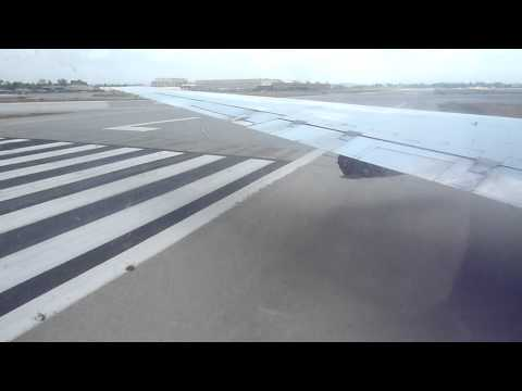 Approach and Landing in Long Beach in an ATI DC-8