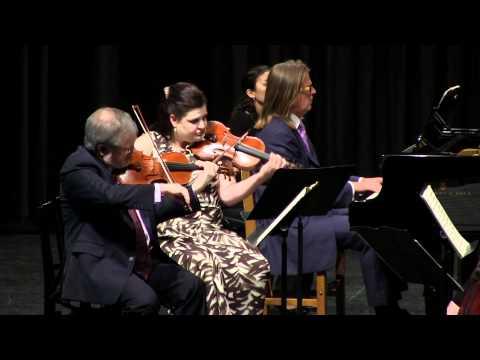 Brahms Piano Quintet in f minor, op. 34, Finale: Poco sostenuto