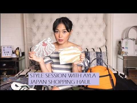 Japan Shopping Haul: Clothes Bag Shoes | Style Session w Ayla Dimitri (Bahasa Indonesia)