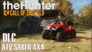 theHunter: Call of the Wild - NEWS I ATV SABER 4X4 Fahrzeug DLC [Deutsch/HD]