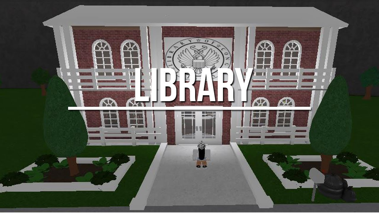 Roblox Welcome To Bloxburg Library 60k Youtube