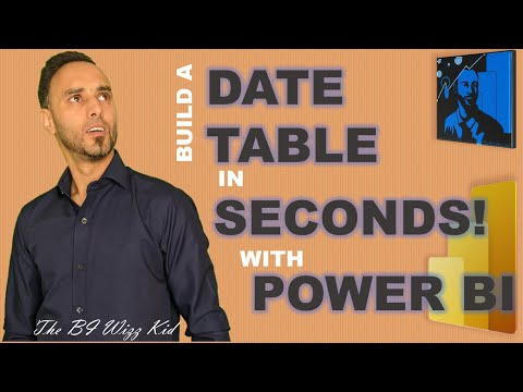 Power BI  Create Date Table in seconds using Power Query function