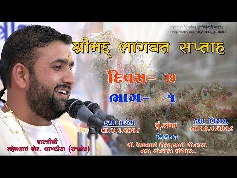 Bhagvat katha ( Ran ) Live (Day 7)