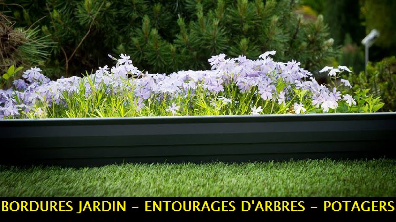 bordures jardin potagers et entourages d 39 arbres aluminium apanages youtube. Black Bedroom Furniture Sets. Home Design Ideas