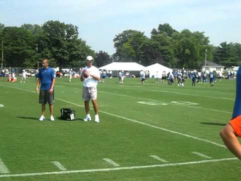 Indianapolis Colts 2011 Trainging Camp - Anderson,IN