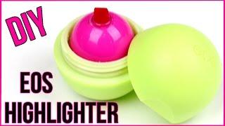 DIY EOS Highlighter Pen! Mini Highlighter Marker - Cool DIY Project!
