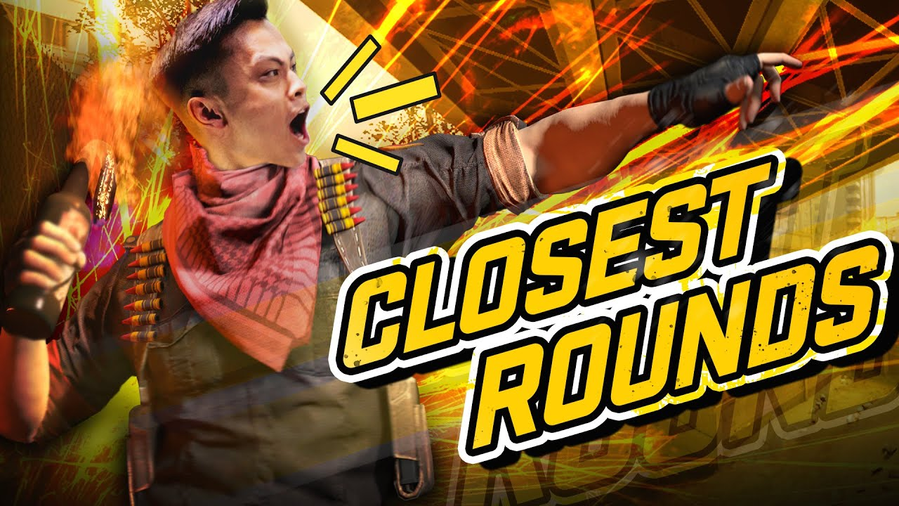 CLOSEST ROUNDS IN EVERY CS:GO MAJOR! (EPIC MOMENTS) thumbnail