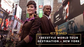 Freestyle World Tour - Destination: New York | Etihad with Manchester City FC