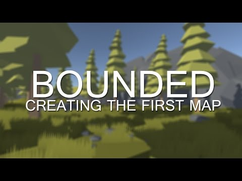 Bounded: Creating the first map (Unity3D and C4D timelapse)