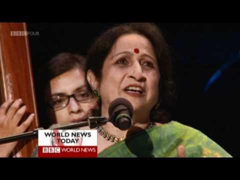 Aruna Sairam rehearses for BBC Prom 2011