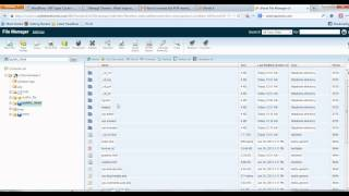 How To Increase The PHP Memory Limit For Wordpress Through cPanel With File Manager Mp3