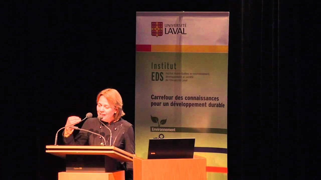Paule Halley - L'eau, patrimoine de la nation québécoise (3/4)