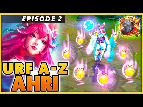 My 1st Ahri Reworked game in URF (EPISODE 2) - BunnyFuFuu   League Of Legends   URF